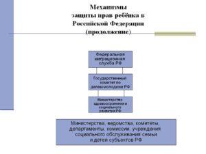 4.2. Защита прав ребенка в Российской Федерации