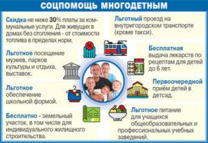 Налоговые льготы многодетным семьям - какие предусмотрены как получить
