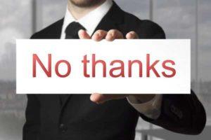 Можно ли отказаться от подписания кредита после одобрения заявки