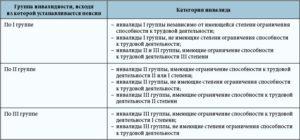 Классификация групп инвалидности в 2018 году - по заболеваниям, льготы оплата, их степени, в России