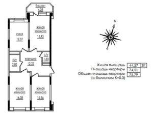 Что входит в общую площадь квартиры в 2018 году - балкон, лоджия, Жилищный кодекс, перегородки