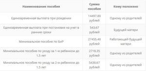 Декретные выплаты в 2018 году: расчет и размеры пособия