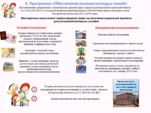 Правила проведения программы «Молодая семья» в Новосибирске