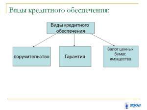 4.3. Виды обеспечения по кредитам