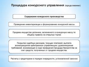 Формирование текущих платежей в процедуре конкурсного производства