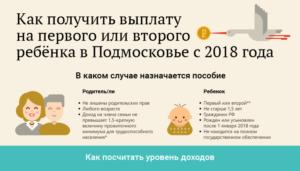 Пособие до 1.5 лет в 2018 году на первого и второго ребенка