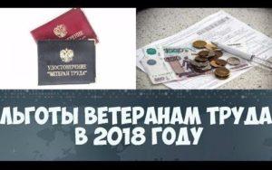 Какие предусмотрены льготы для ветеранов труда в Петербурге