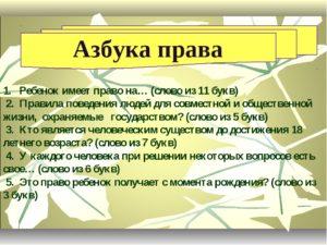 азбука права