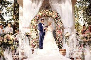 Стоимость выездной регистрации свадьбы
