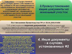 Регистрация права собственности на земельный участок в 2018 году