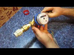 Установка счетчика воды своими руками пошаговая инструкция!