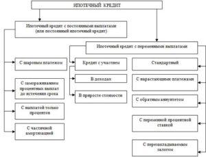 Виды ипотечного кредитования в России