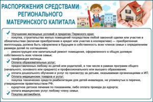 Региональный материнский капитал в Пермском крае в 2018 году